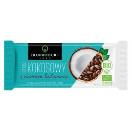ORGANIC COCONUT BAR WITH COCOA SEEDS 30G ECOPRODUCT
