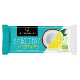 ORGANIC COCONUT BAR WITH LEMON 30G ECOPRODUCT