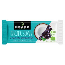 ORGANIC COCONUT BAR WITH BLACK CURRANT 30G ECOPRODUCT