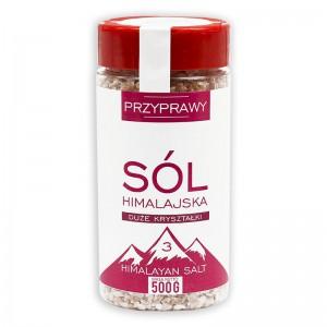 HIMALAYAN SALT PINK COARSE 500G + 10% BONUS VITA NATURA