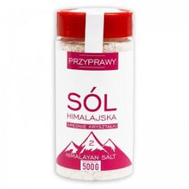 HIMALAYAN SALT PINK MEDIUM 500G + 10% BONUS VITA NATURA