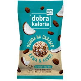 QUINOA BALLS COFFEE & COCONUT GOOD CALORIA 24G