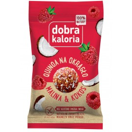 QUINOA BALLS RASPBERRY & COCONUT GOOD CALORIA 24G