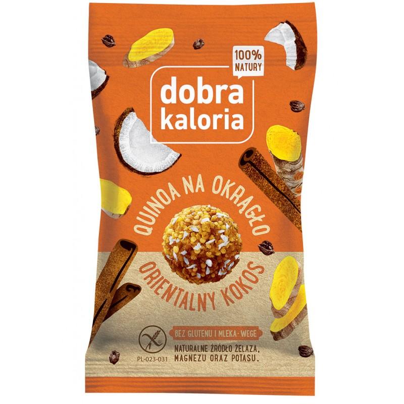 QUINOA BALLS ORIENTAL COCONUT 24G DOBRA KALORIA