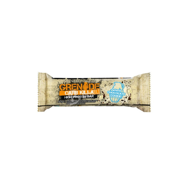 HIGH PROTEIN BAR WHITE CHOCOLATE COOKIE 60G GRENADE