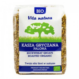 ROASTED BUCKWHEAT GROATS ORGANIC 400G VITA NATURA