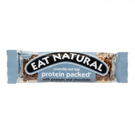 PROTEIN BAR WITH PEANUTS AND CHOCOLATE 45G EAT NATURAL