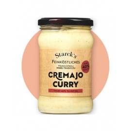 MAJONEZ BEZ JAJ CREMAJO CURRY 270G STARCK'C FOOD