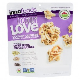ORGANIC COCONUT CLUSTERS 500G INNO FOODS