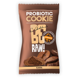 BE RAW PROBIOTIC COOKIE COFFEE 20G