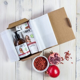 SET BEBIO POMEGRANATE AND GOJI BERRIES