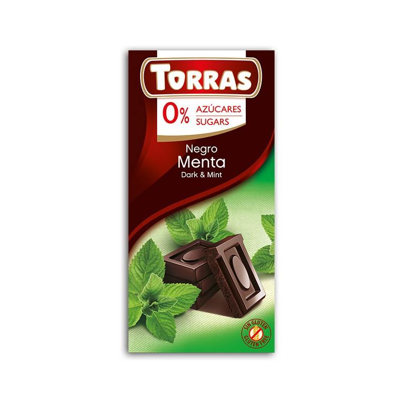 DARK CHOCOLATE WITH MINT TORRAS 75G
