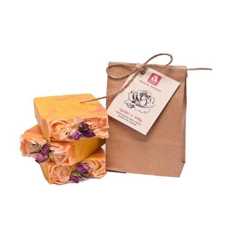 NATURAL SOAP WITH ROSE 150G AJEDEN