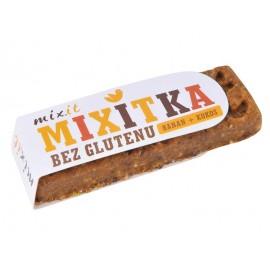 GLUTEN FREE BANANA + COCONUT BAR 50G MIXIT