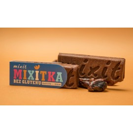 GLUTEN FREE COCOA + PROTEIN BAR 50G MIXIT