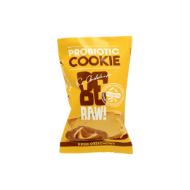 BE RAW PROBIOTIC COOKIE PEANUT BUTTER 20G