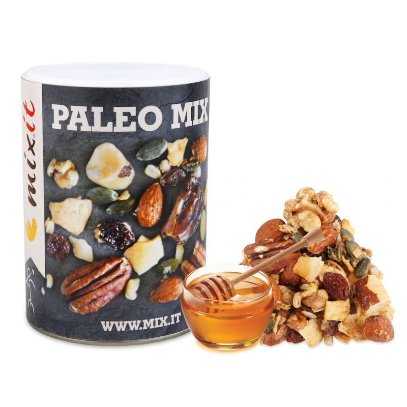 PALEO MIX - ROASTED MIX NUTS IN HONEY 350G MIXIT