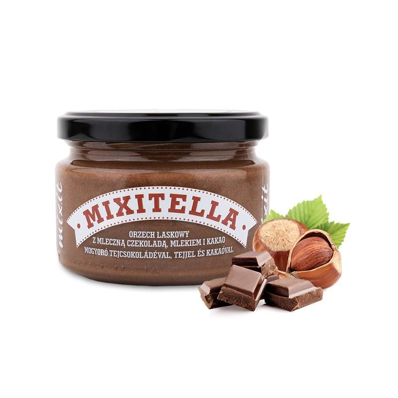 MIXITELLA HAZELNUT WITH MILK CHOCOLATE &  COCOA 250G MIXIT