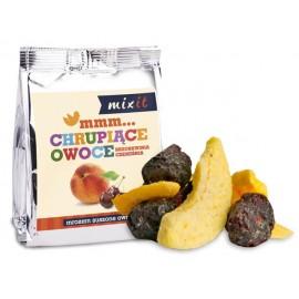 CRUNCHY FRUITS PEACH & CHERRY 20G MIXIT