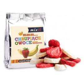 CRUNCHY FRUITS BANANA & STRAWBERRY 23G MIXIT