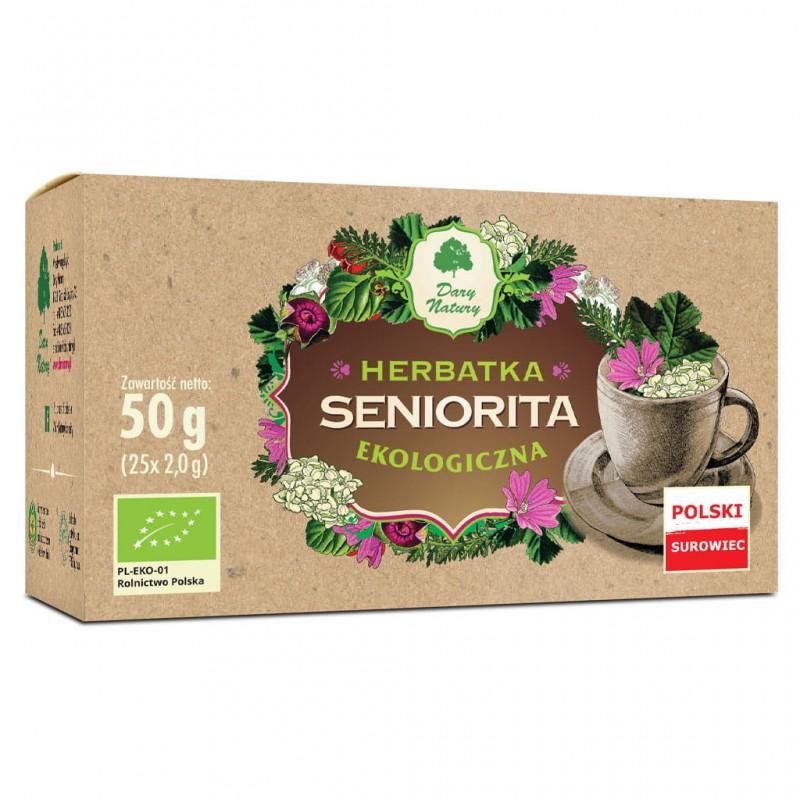 ORGANIC TEA SENIORITA 25x2G DARY NATURY