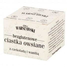 GLUTEN-FREE OATS COOKIES WITH CHOCOLATE & VANILLA 150G ŁAKOĆ WARSZAWSKI
