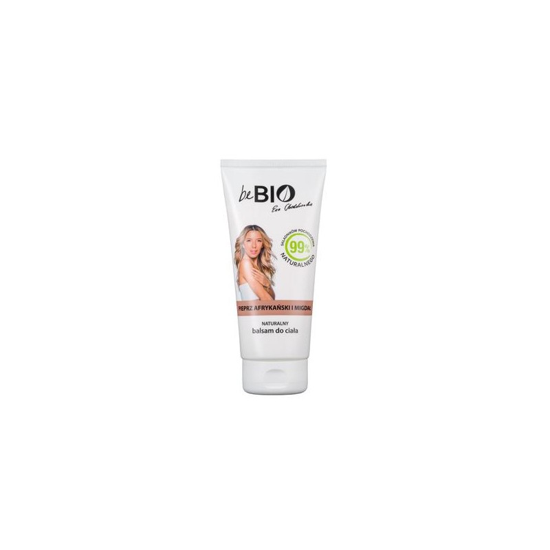 NATURAL BODY LOTION AFRICAN PEPPER & ALMOND BEBIO 200ML