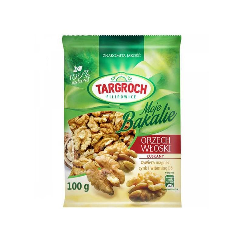 SHELLED WALNUTS 100G TARGROCH