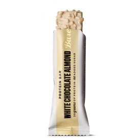 PROTEIN BAR WHITE CHOCOLATE ALMOND 55G BAREBELLS