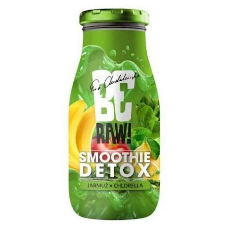 BE RAW SMOOTHIE DETOX KALE & CHLORELLA 250ML