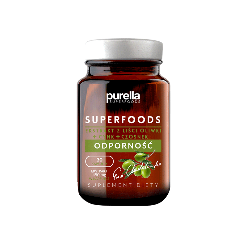 PURELLA SUPERFOODS OLIVE LEAF EXTRACT RESISTANCE  DIET SUPLEMENT 16,5G