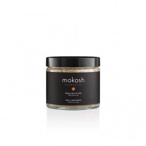 BODY SALT SCRUB COFFEE & ORANGE 300G MOKOSH