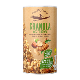 NUT GRANOLA 400G ONE DAY MORE