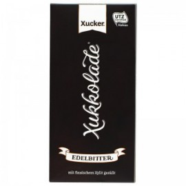 DARK CHOCOLATE 75% COCOA XYLITOL 100G XUCKER
