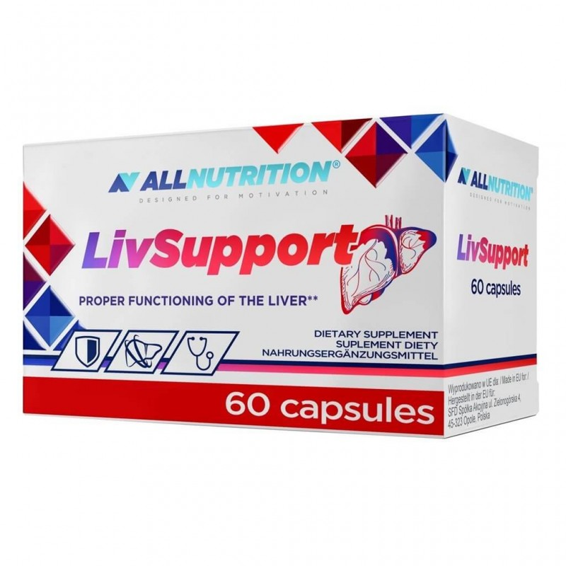 ALLNUTRITION LIV SUPPORT 60 CAPSULES