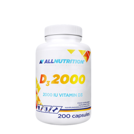 ALLNUTRITION VITAMIN D3 2000 200 CAPSULES