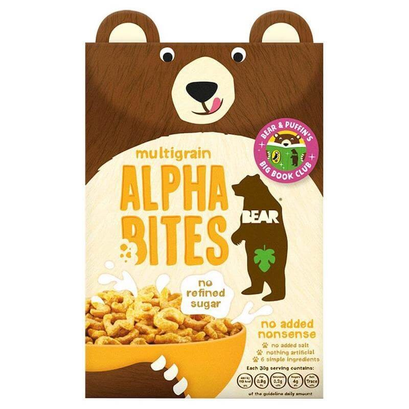 Alphabites Multigrain Cereals 350g Bear