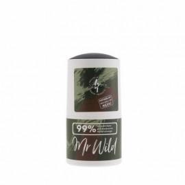 Roll-On Deodorant For Men Mr Wild 50ml 4Organic