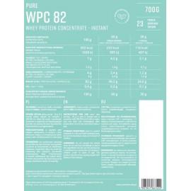 Pure WPC 82 Instant Białko Serwatkowe Naturalne 700g KFD