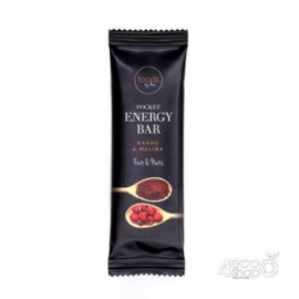 POCKET ENERGY BAR COCOA & RASPBERRY Food by Ann