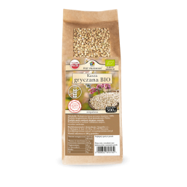 Organic Unroasted Buckwheat Groats 500g Pięć Przemian