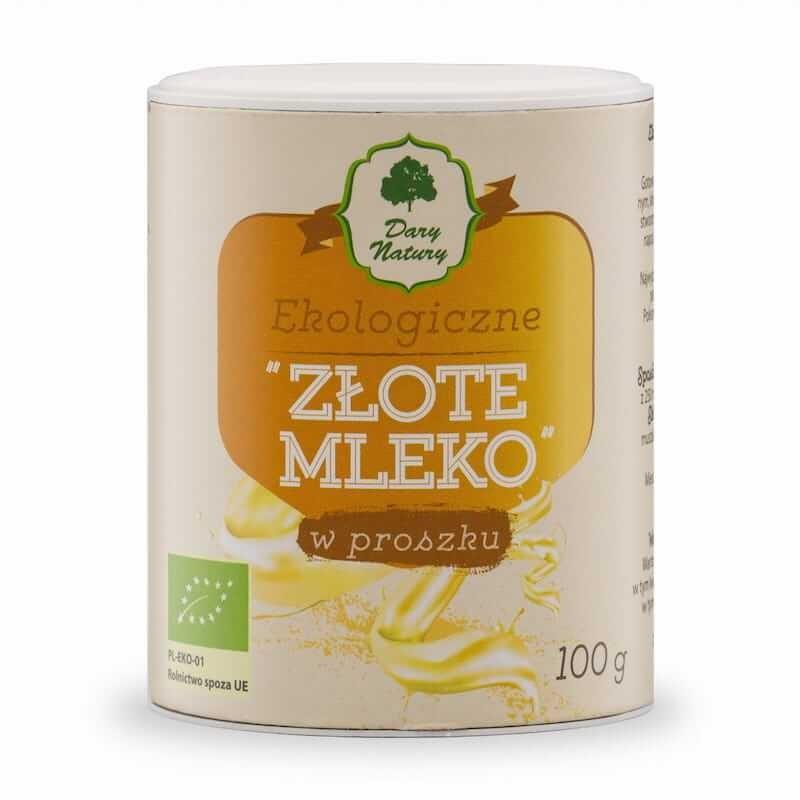 Organic Gold Milk In Powder 100g Dary Natury