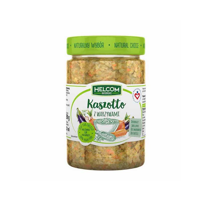 Buckwheat Risotto With Vegetables 290g Helcom