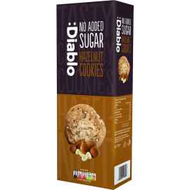 Sugar Free Hazelnuts Cookies 135g Diablo