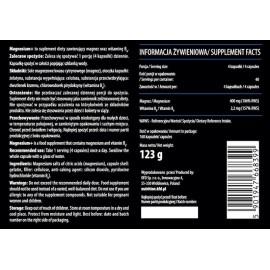 Magnesium + Vitamin B6 160 Capsules KFD