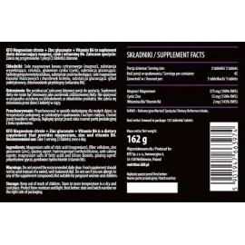 ZMB (Magnesium, Zinc, Vitamin B6) 135 Tabletek KFD