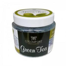 NATURAL BATH SALT GREEN TEA 500G FITCOMFORT