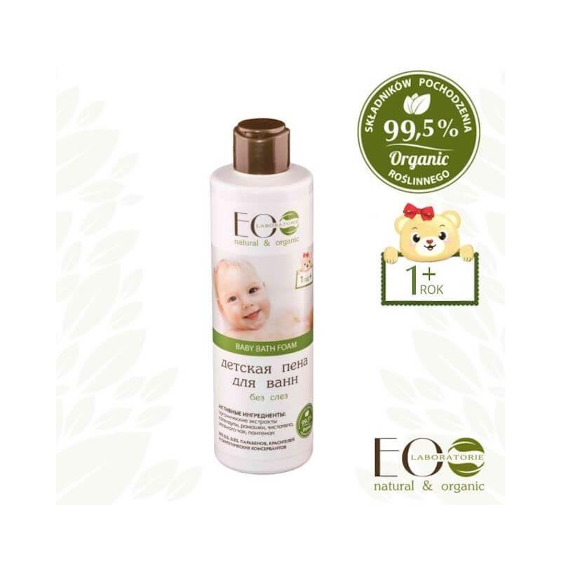 Eco Laboratorie Baby Care Bath Lotion For Children 250ml