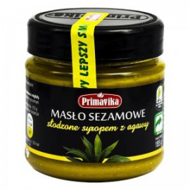 SESAME BUTTER WITH AGAVE 185G PRIMAVIKA