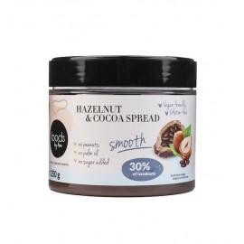 Hazelnut & Cocoa Spread 30% Smooth 250g Foods By Ann